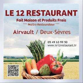 Le 12 Restaurant Airvault Airvault