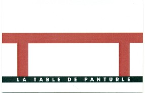 La table de Panturle Banon