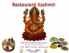 Restaurant Indien Kashmir Nantua