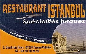 RESTAURAN ISTANBUL (Kebab) Ferney Voltaire